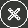 ikona projektowanie